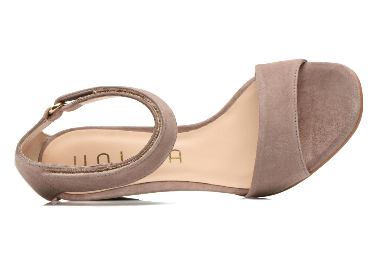 Sandals Unisa Dulcea Beige view from the left
