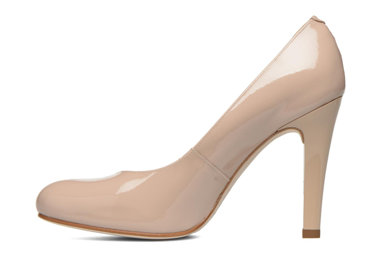Zapatos de tacón Unisa Patric Beige vista de frente
