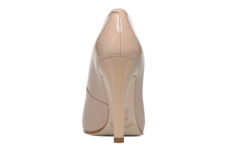Zapatos de tacón Unisa Patric Beige vista lateral derecha