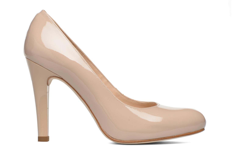 High heels Unisa Patric Beige back view