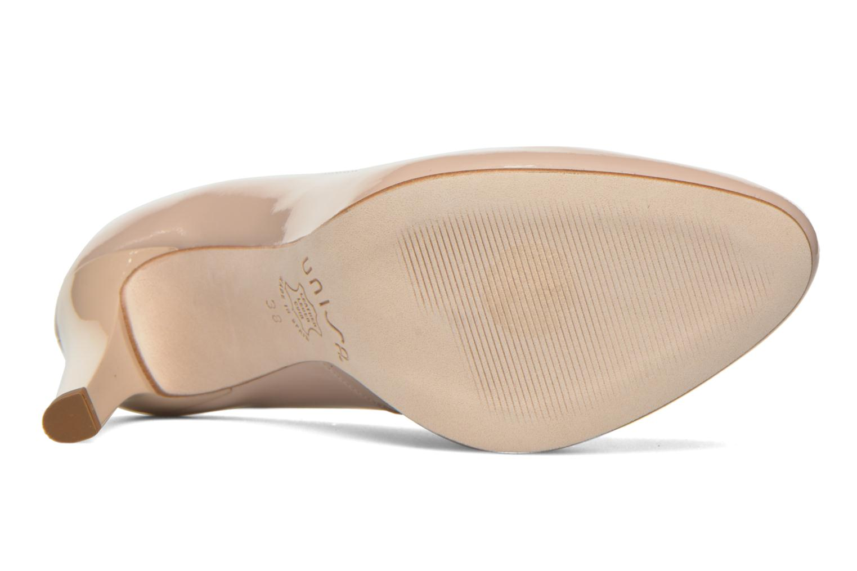 Zapatos de tacón Unisa Patric Beige vista de arriba