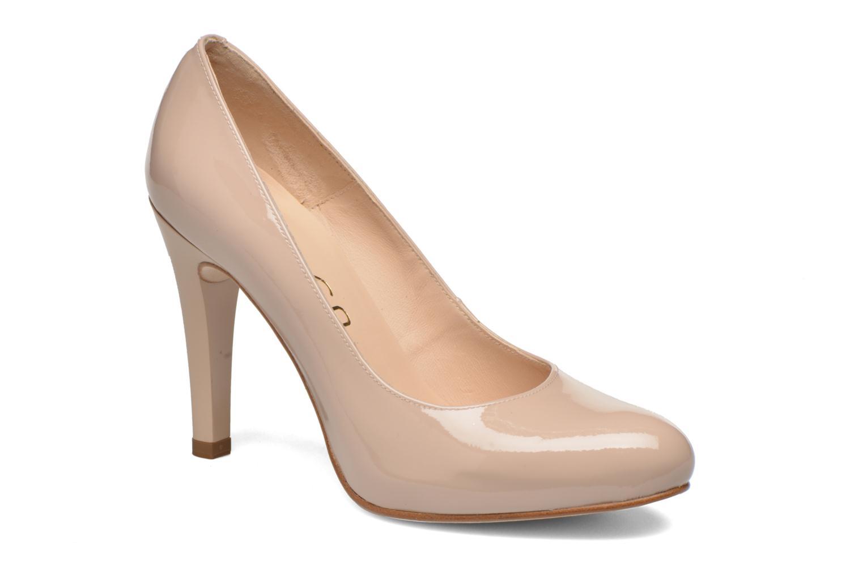 High heels Unisa Patric Beige detailed view/ Pair view