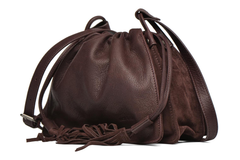 Handtaschen Nat & Nin Anouk weinrot schuhe getragen
