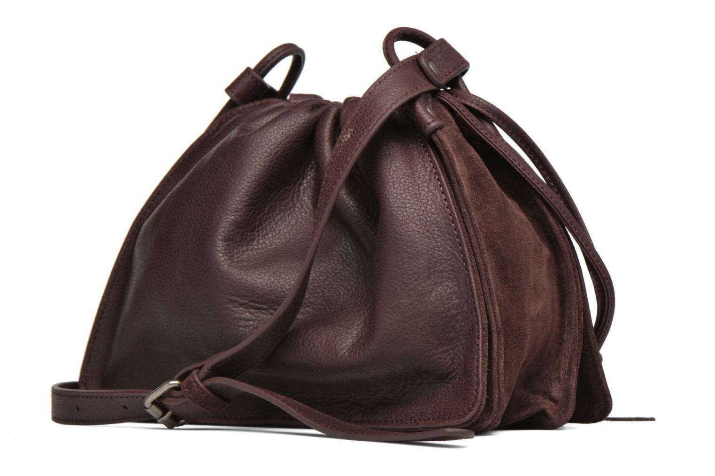 Handtaschen Nat & Nin Anouk weinrot ansicht von rechts