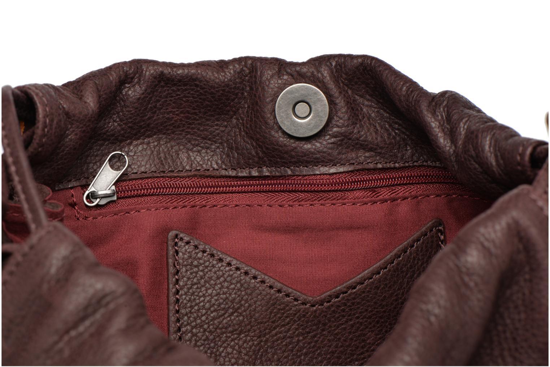 Handtaschen Nat & Nin Anouk weinrot ansicht von hinten