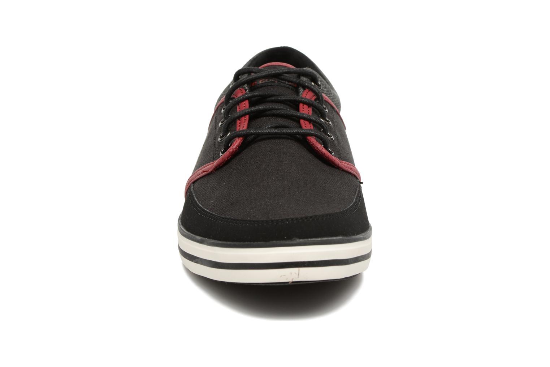 Sneaker Le Coq Sportif Denfert Heavy Cvs schwarz schuhe getragen