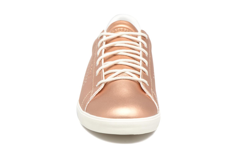 Baskets Le Coq Sportif Agate LO S Rose vue portées chaussures