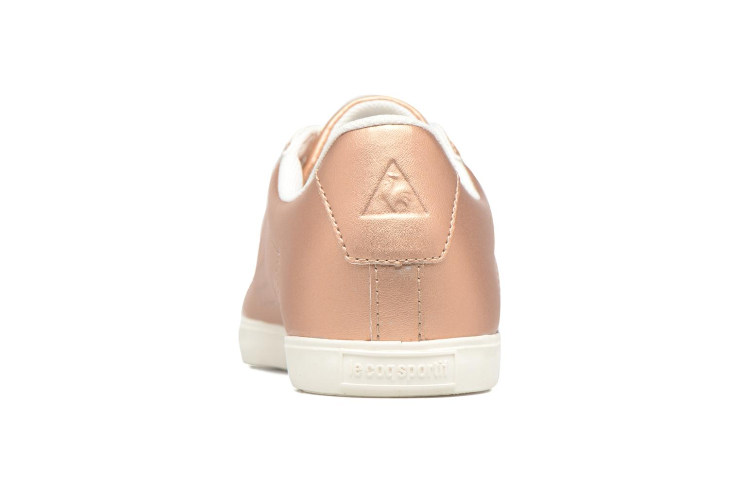 Trainers Le Coq Sportif Agate LO S Pink view from the right