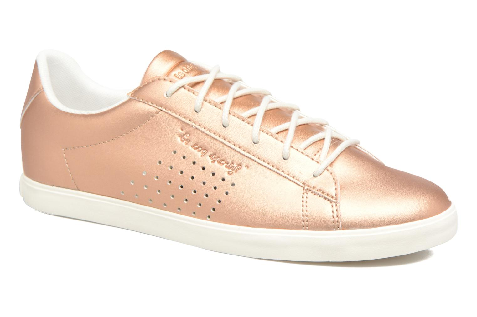 Trainers Le Coq Sportif Agate LO S Pink detailed view/ Pair view