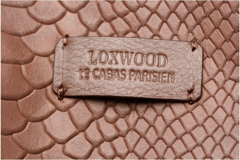 Bolsos de mano Loxwood Shopper Marilou Marrón vista lateral izquierda
