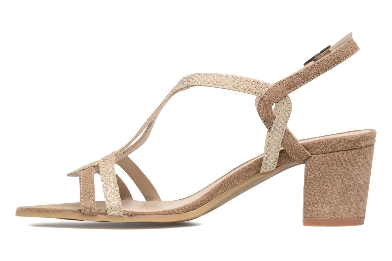 Sandalen Perlato Pandora beige ansicht von vorne