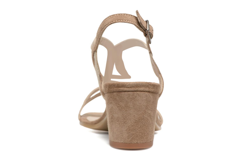 Sandalen Perlato Pandora beige ansicht von rechts