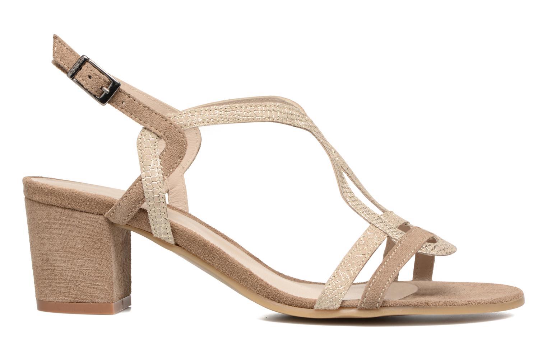 Sandalen Perlato Pandora beige ansicht von hinten