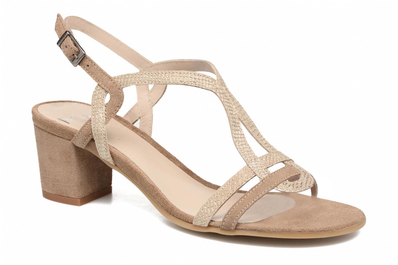 Sandals Perlato Pandora Beige detailed view/ Pair view