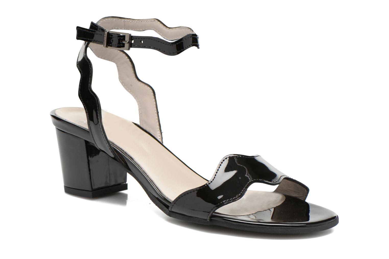 Sandales et nu-pieds Perlato Paz Noir vue détail/paire