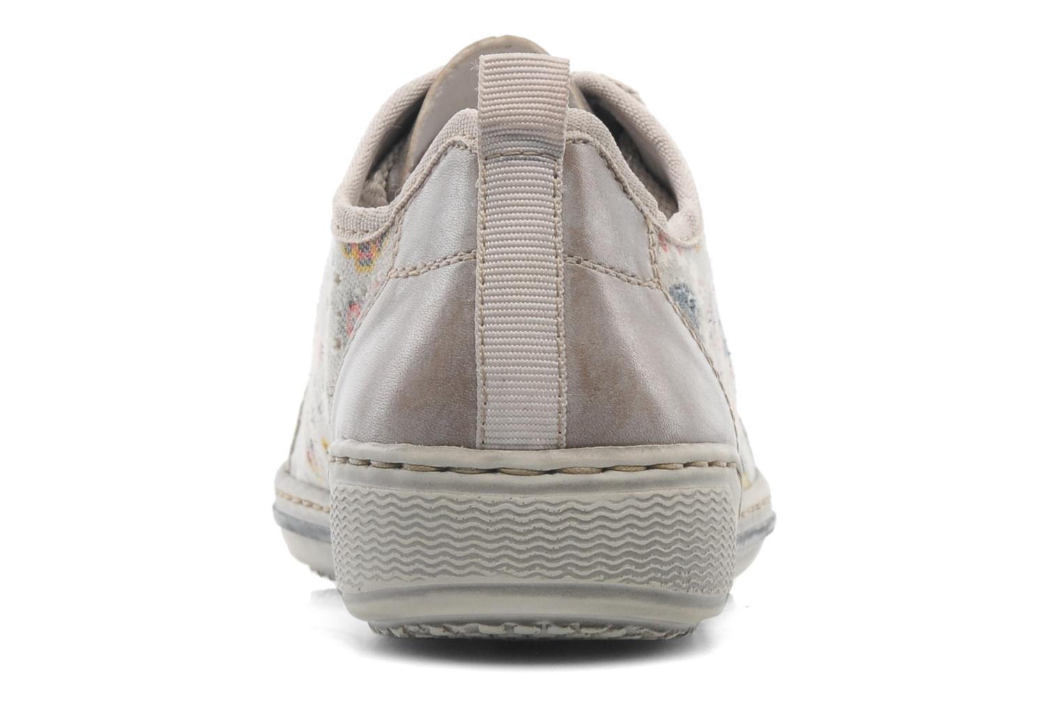 Trainers Rieker Bin 42425 Grey view from the right