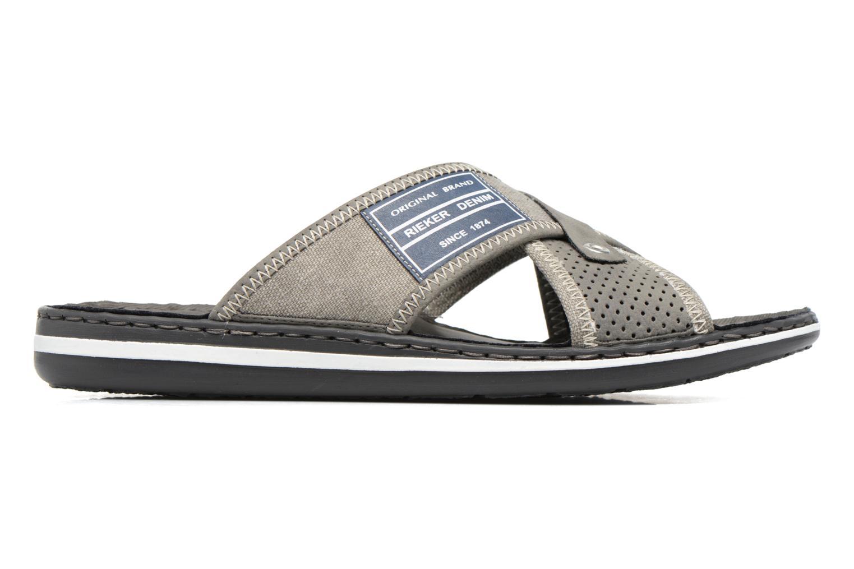 Sandales et nu-pieds Rieker Nolan 21064 Gris vue derrière
