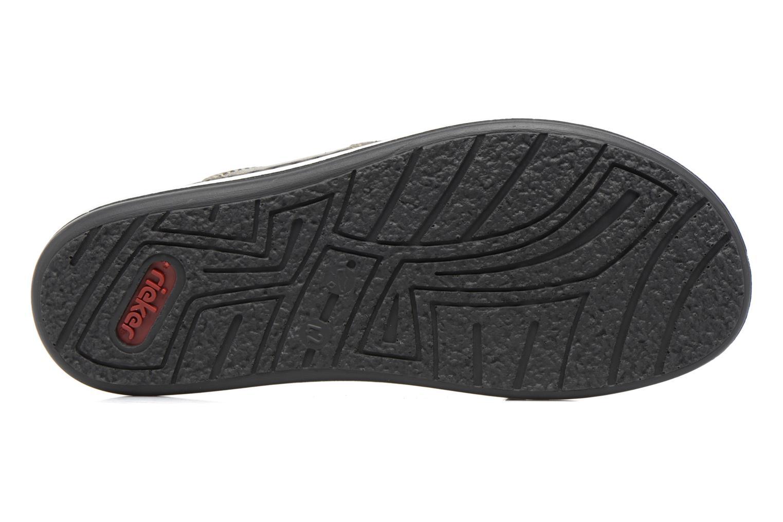 Sandales et nu-pieds Rieker Nolan 21064 Gris vue haut