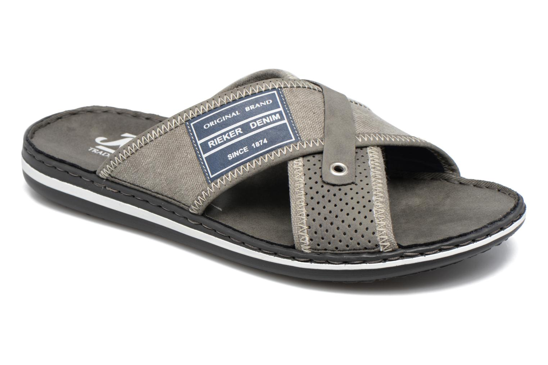 Sandales et nu-pieds Rieker Nolan 21064 Gris vue détail/paire