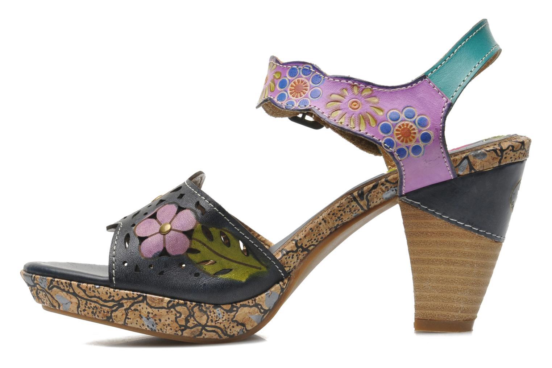 Sandalen Laura Vita Salama mehrfarbig ansicht von vorne