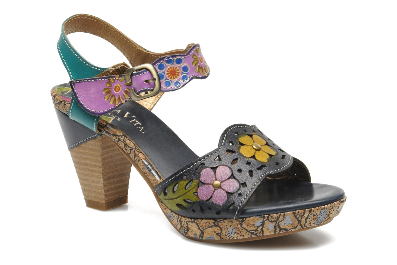 Sandalias Laura Vita Salama Multicolor vista de detalle / par