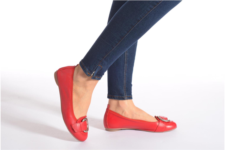 Bailarinas Arima pour Elle Katina Rojo vista de abajo