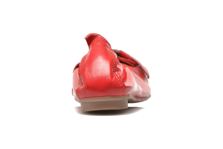 Bailarinas Arima pour Elle Katina Rojo vista lateral derecha