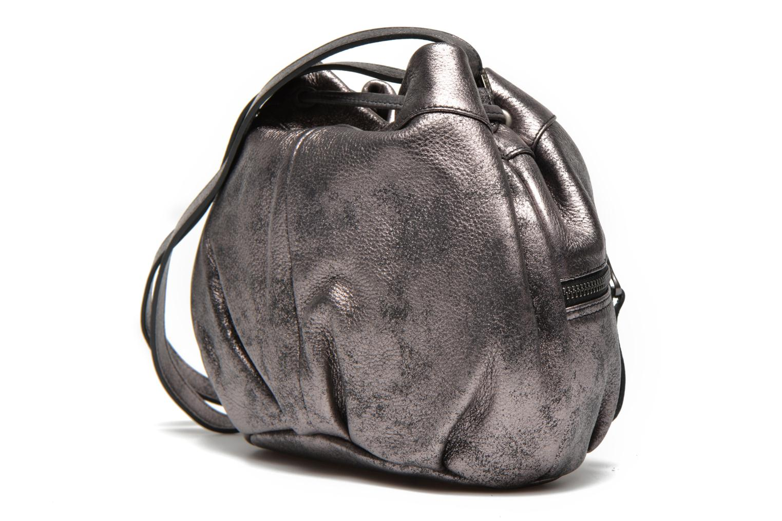 Handbags Sabrina Anaé Silver view from the right