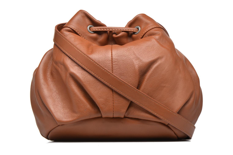 Handbags Sabrina Anaé Brown front view
