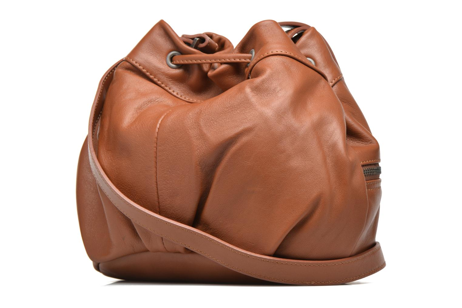 Handbags Sabrina Anaé Brown view from the right