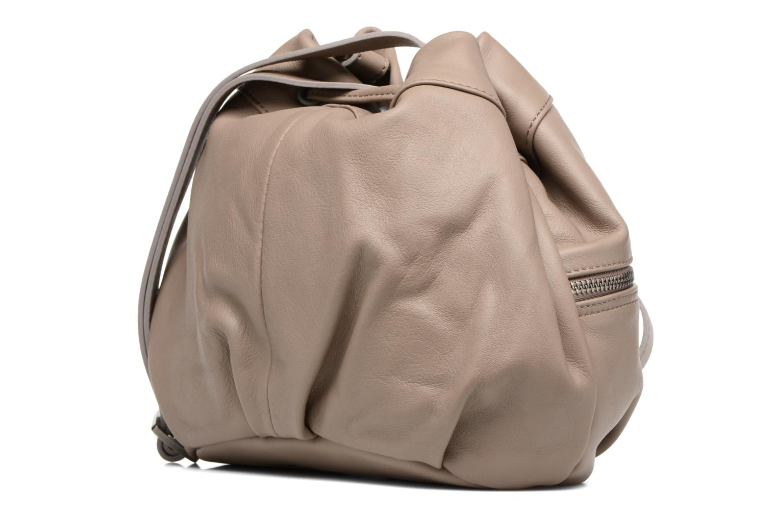 Handbags Sabrina Anaé Beige view from the right