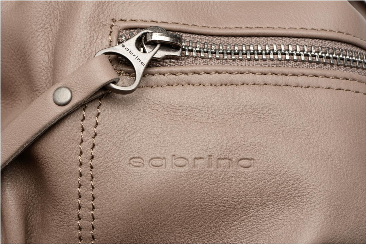 Handbags Sabrina Anaé Beige view from the left
