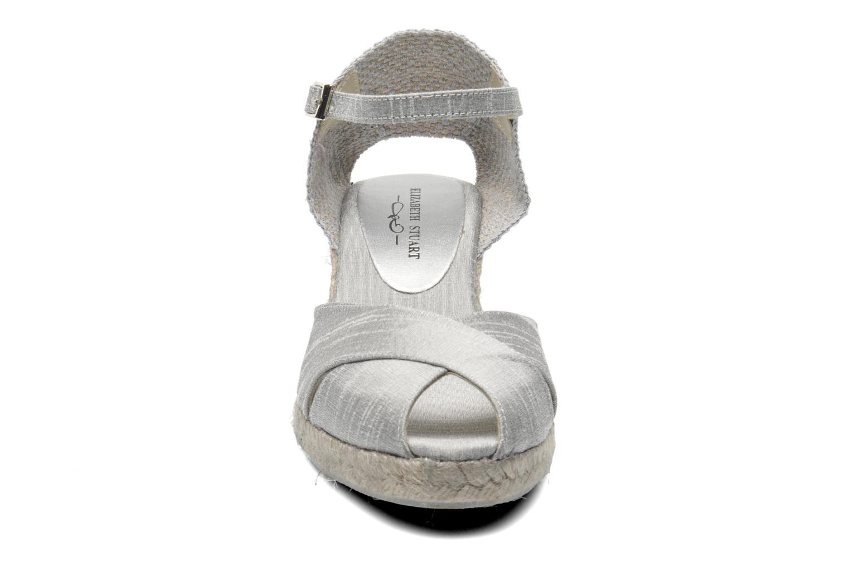Sandales et nu-pieds Elizabeth Stuart Trento 604 Argent vue portées chaussures