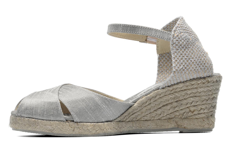 Sandalen Elizabeth Stuart Trento 604 silber ansicht von vorne