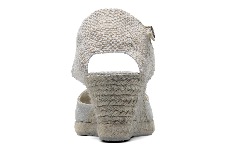 Sandales et nu-pieds Elizabeth Stuart Trento 604 Argent vue droite