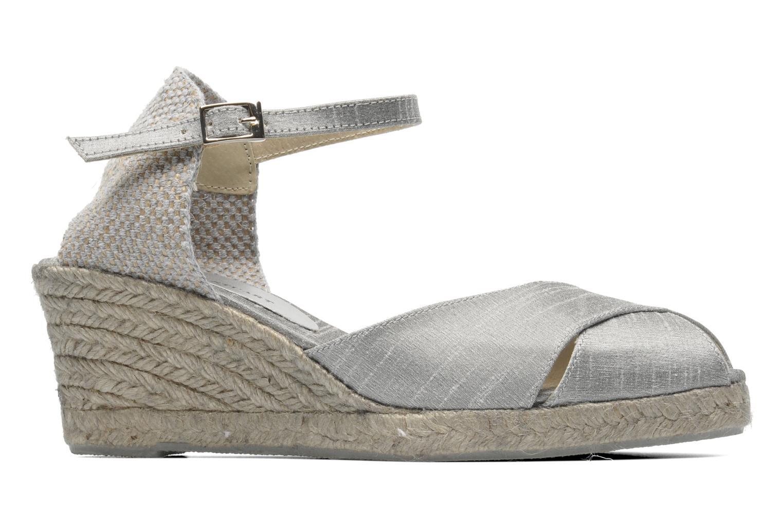 Sandalen Elizabeth Stuart Trento 604 silber ansicht von hinten