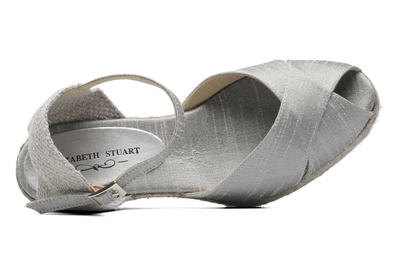 Sandalias Elizabeth Stuart Trento 604 Plateado vista lateral izquierda