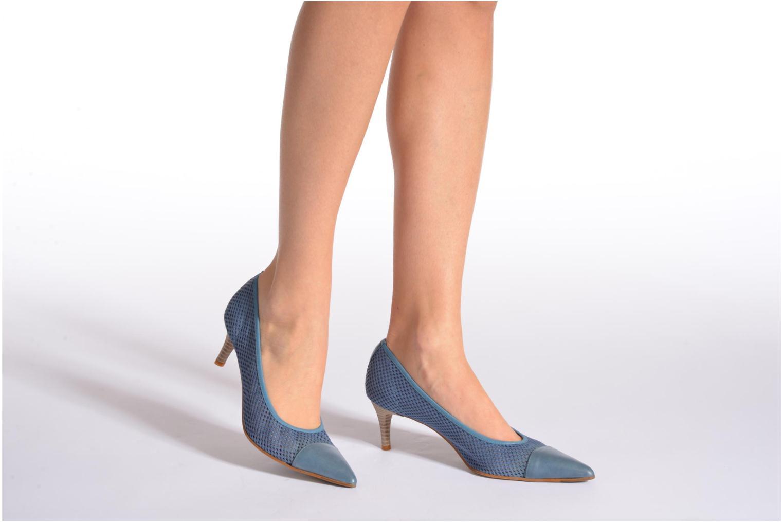 Zapatos de tacón Elizabeth Stuart Rayan 666 Azul vista de abajo