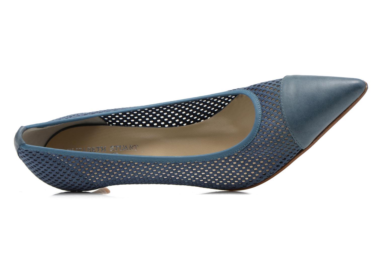Zapatos de tacón Elizabeth Stuart Rayan 666 Azul vista lateral izquierda