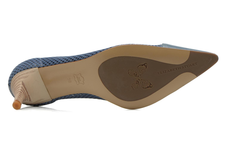 Zapatos de tacón Elizabeth Stuart Rayan 666 Azul vista de arriba