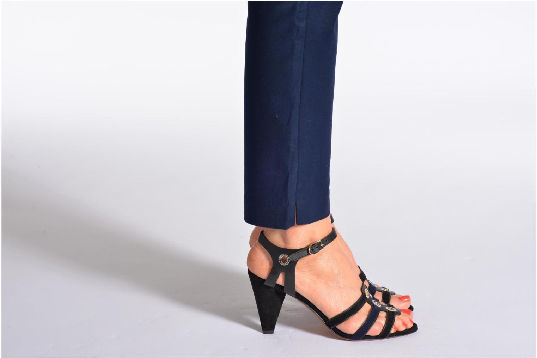 Sandals Sonia Rykiel Fide Black view from underneath / model view