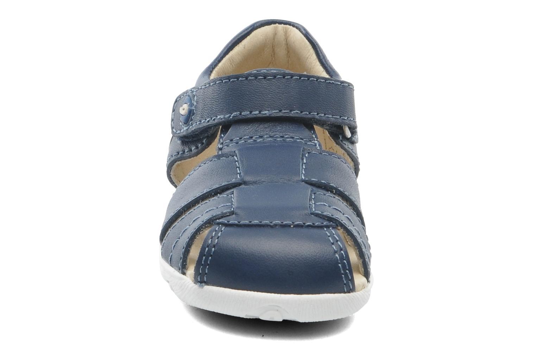 Sandales et nu-pieds Garvalin Mar Bleu vue portées chaussures