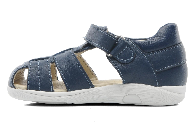 Sandales et nu-pieds Garvalin Mar Bleu vue face