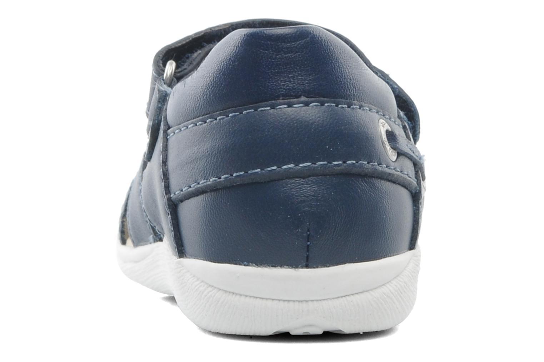 Sandaler Garvalin Mar Blå Se fra højre