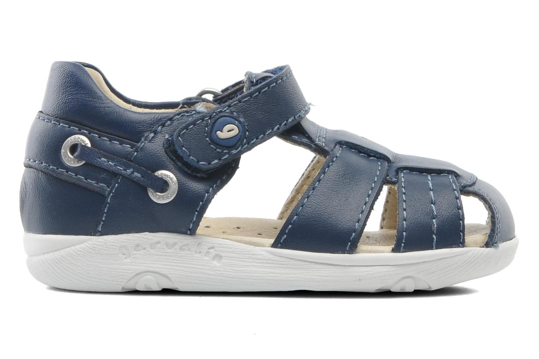 Sandaler Garvalin Mar Blå se bagfra