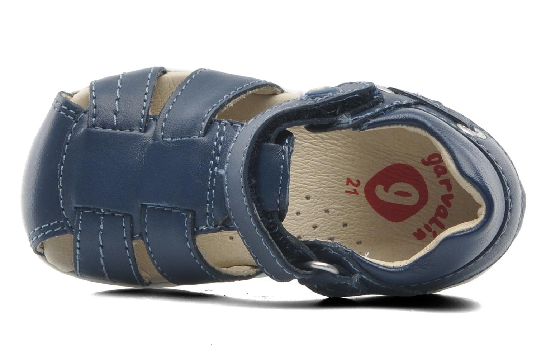 Sandaler Garvalin Mar Blå se fra venstre