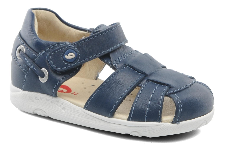 Sandaler Garvalin Mar Blå detaljeret billede af skoene