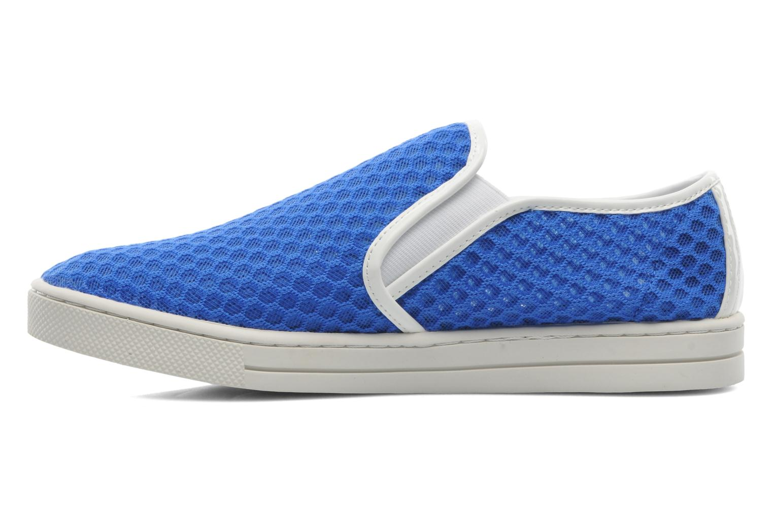Trainers Mellow Yellow Sajoging Blue front view