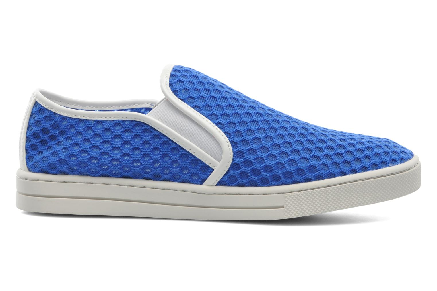 Trainers Mellow Yellow Sajoging Blue back view