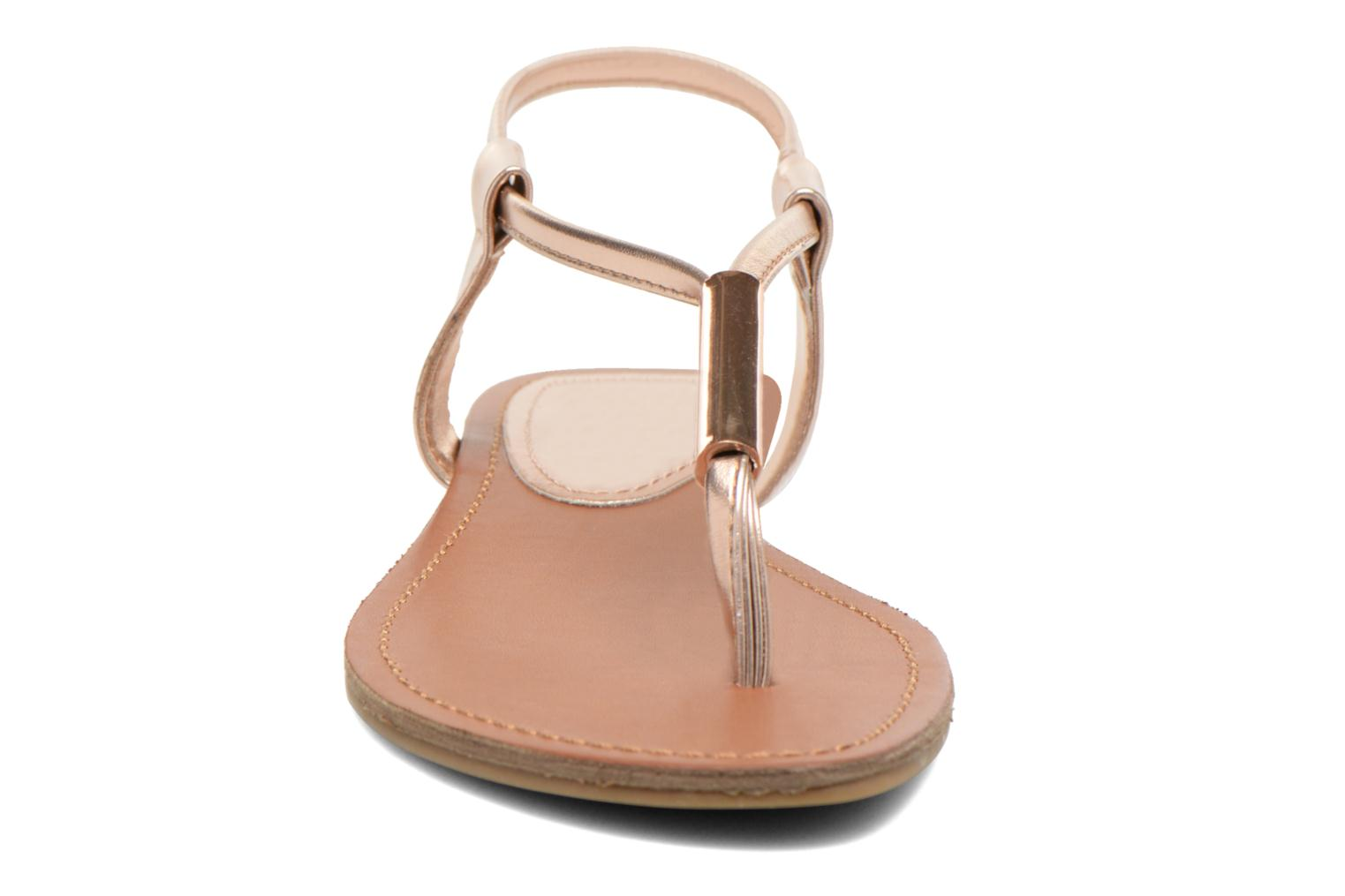 Sandals Steve Madden Hamil Bronze and Gold model view